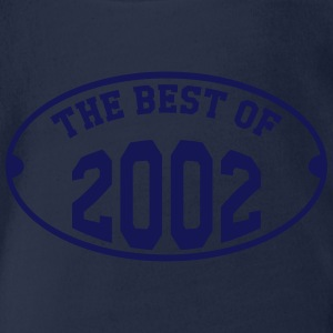 The Best of 2002 Shirts - Organic Short-sleeved Baby Bodysuit