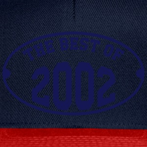 The Best of 2002 Shirts - Snapback Cap