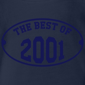 The Best of 2001 Tee shirts - Body bébé bio manches courtes