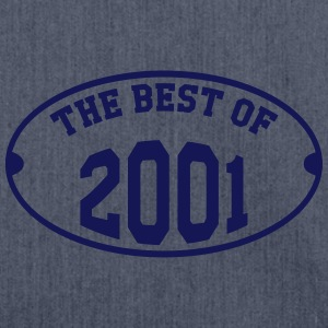 The Best of 2001 T-Shirts - Schultertasche aus Recycling-Material