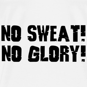 no sweat no glory Bags & backpacks - Men's Premium T-Shirt