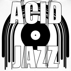 Acid Jazz Tee shirts - Sweat-shirt à capuche Premium pour hommes