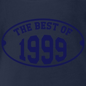 The Best of 1999 Shirts - Organic Short-sleeved Baby Bodysuit