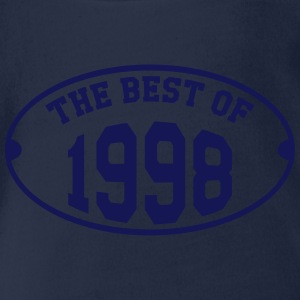 The Best of 1998 Shirts - Organic Short-sleeved Baby Bodysuit