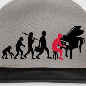 Piano Music Evolution T-Shirts - Snapback Cap