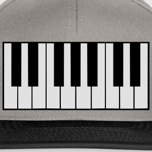 Piano Keys Design T-shirts - Snapbackkeps