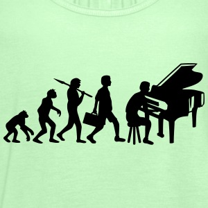 Piano Music Evolution T-Shirts - Women's Tank Top by Bella