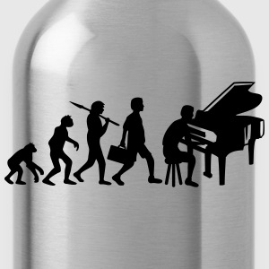 Piano Music Evolution T-Shirts - Trinkflasche