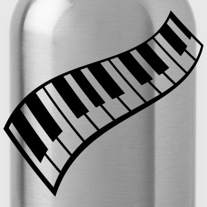 Piano Keys Pattern T-shirts - Drinkfles