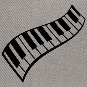 Piano Keys Pattern T-shirts - Snapbackkeps