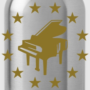 Piano Star Design T-shirts - Drinkfles