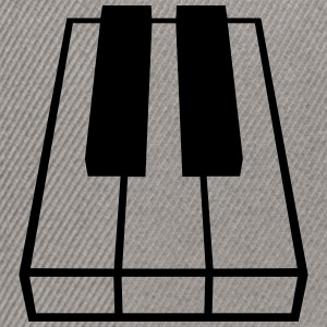 Perspective Piano Keys Design T-shirts - Snapbackkeps