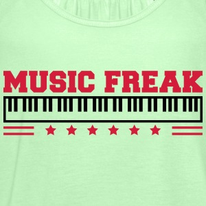 Music Freak Paino Design Magliette - Top da donna della marca Bella