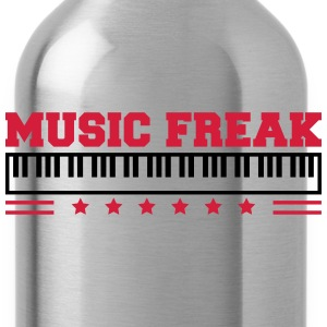 Music Freak Paino Design Koszulki - Bidon