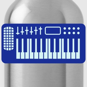 Keyboard Piano Design T-shirts - Drinkfles