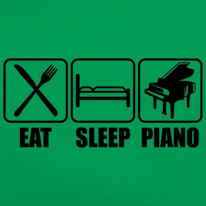 Eat Sleep Piano Logo Tee shirts - Sac Retro