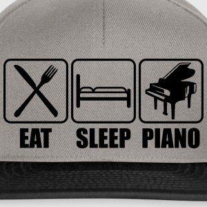 Eat Sleep Piano Logo T-shirts - Snapbackkeps