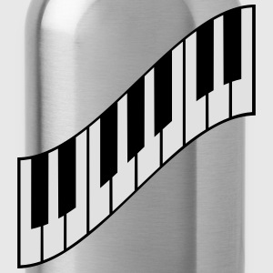 Cool Piano Keys Design T-Shirts - Water Bottle