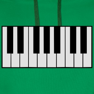 Piano Keys Design T-skjorter - Premium hettegenser for menn