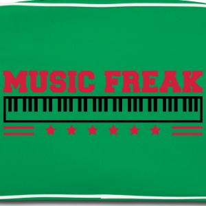 Music Freak Paino Design T-shirts - Retro taske