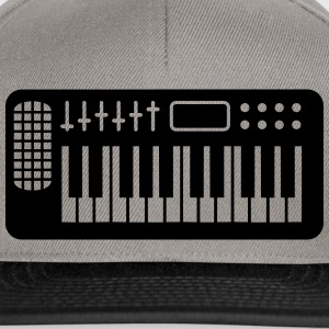 Keyboard Piano Design T-shirts - Snapbackkeps