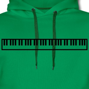 Cool Piano Keys Music Design Koszulki - Bluza męska Premium z kapturem