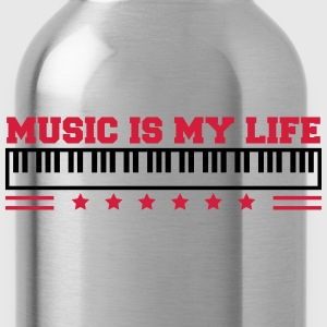 Music Is My Life T-shirts - Drikkeflaske