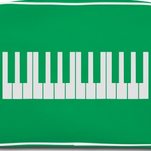 Cool Piano Keys Design T-skjorter - Retro veske