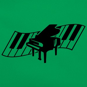 Piano Keys Music Design T-skjorter - Retro veske