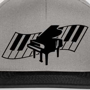 Piano Keys Music Design T-shirts - Snapbackkeps