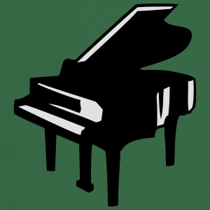 Piano Design T-shirts - Forklæde