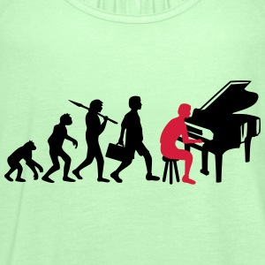 Piano Music Evolution T-skjorter - Singlet for kvinner fra Bella