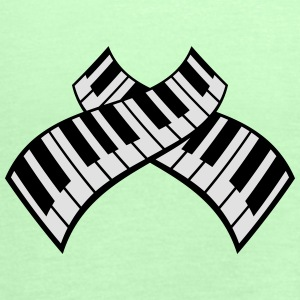 Piano Keys Pattern Design T-skjorter - Singlet for kvinner fra Bella