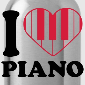 I Love Piano Design Tee shirts - Gourde
