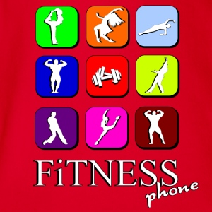 Fitness phone Tee shirts - Body bébé bio manches courtes