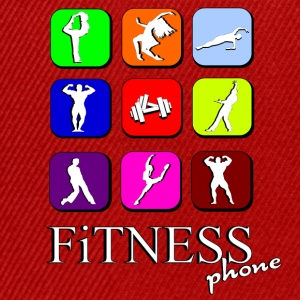 Fitness phone Tee shirts - Casquette snapback