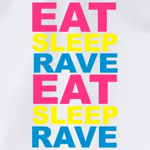 Eat Sleep Rave Bottles & Mugs - Drawstring Bag