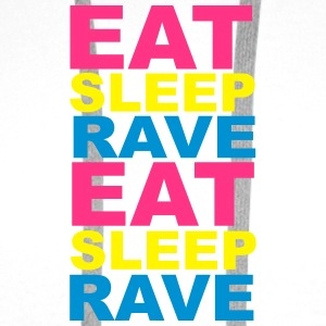 Eat Sleep Rave Bottles & Mugs - Men's Premium Hoodie