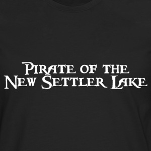 Pirate of the New Settler Lake T-Shirts - Männer Premium Langarmshirt