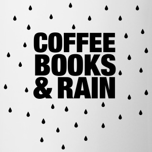 Coffee Books & Rain T-Shirts - Mug