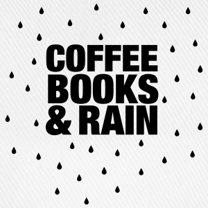 Coffee Books & Rain T-Shirts - Baseball Cap