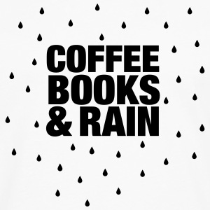 Coffee Books & Rain T-Shirts - Men's Premium Longsleeve Shirt
