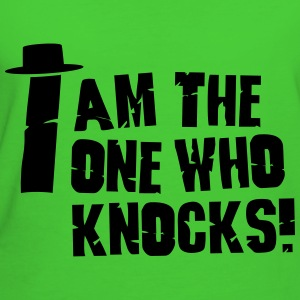I am the one who knocks / i'm the one who knocks Vesker & ryggsekker - Økologisk T-skjorte for kvinner