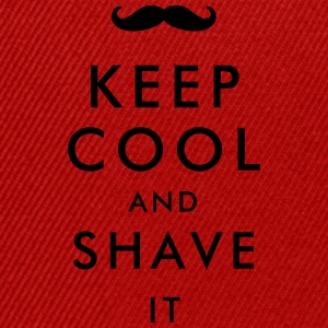 keep cool and shave it T-Shirts - Snapback Cap