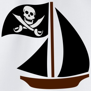 Pirate Boat T-Shirts - Drawstring Bag