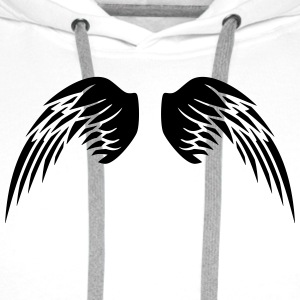 Angel Wings T-shirts - Herre Premium hættetrøje