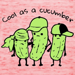 cool as a cucumber Shirts - Women's Tank Top by Bella