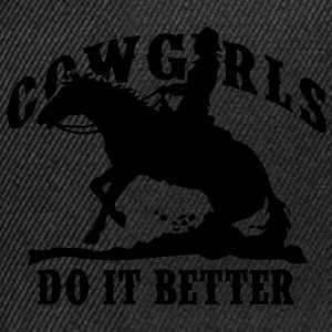 Cowgirls Do It Better - Slide Stop T-Shirts - Snapback Cap