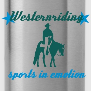 Westernreiten Sports in Emotion Pullover & Hoodies - Trinkflasche