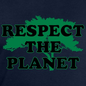 Respect the Planet T-Shirts - Men's Sweatshirt by Stanley & Stella